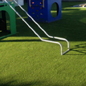 <p>Synthetic Grass provides for a safe, soft and durable playing surface. Create naturally inviting play areas without the costly maintenance hassle of up keeping natural grass.</p>