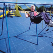 <p>Play Matta™ Rebound™ range provides an alternative range of EPDM Rubber and Synthetic turf options. Play Matta™ Rebound™ Systems are easily altered to change the safety surface shape and can be used in conjunction with other Play Matta interlocking tiles.</p>