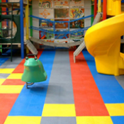 <p>Play Matta™ Kidz™ tiles provide versatile safety flooring with lightweight tiles</p>