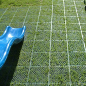 <p>Play Matta™ Safety™ Systems are designed to provide compliant impact protection for playgrounds, recreational facilities and other areas where grass retention is also important</p>