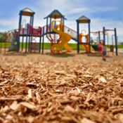 <p>Woodchips present a low entry cost playground surfacing option. Woodchips can be very effective in lessening the impact of falls from playground equipment when an adequate depth of Woodchips are installed.</p>